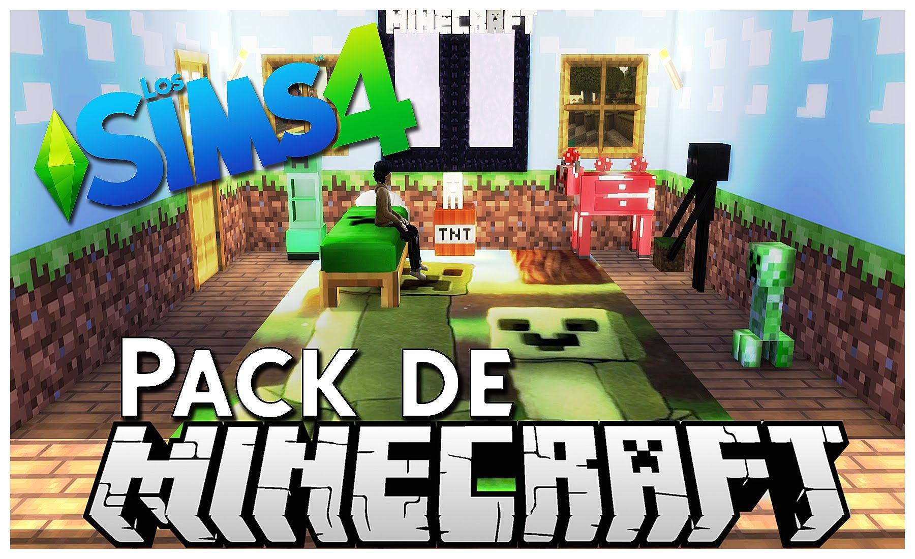 Los Sims 4 - Pack de Minecraft (DESCARGA) | Sims | Pinterest | Sims ...