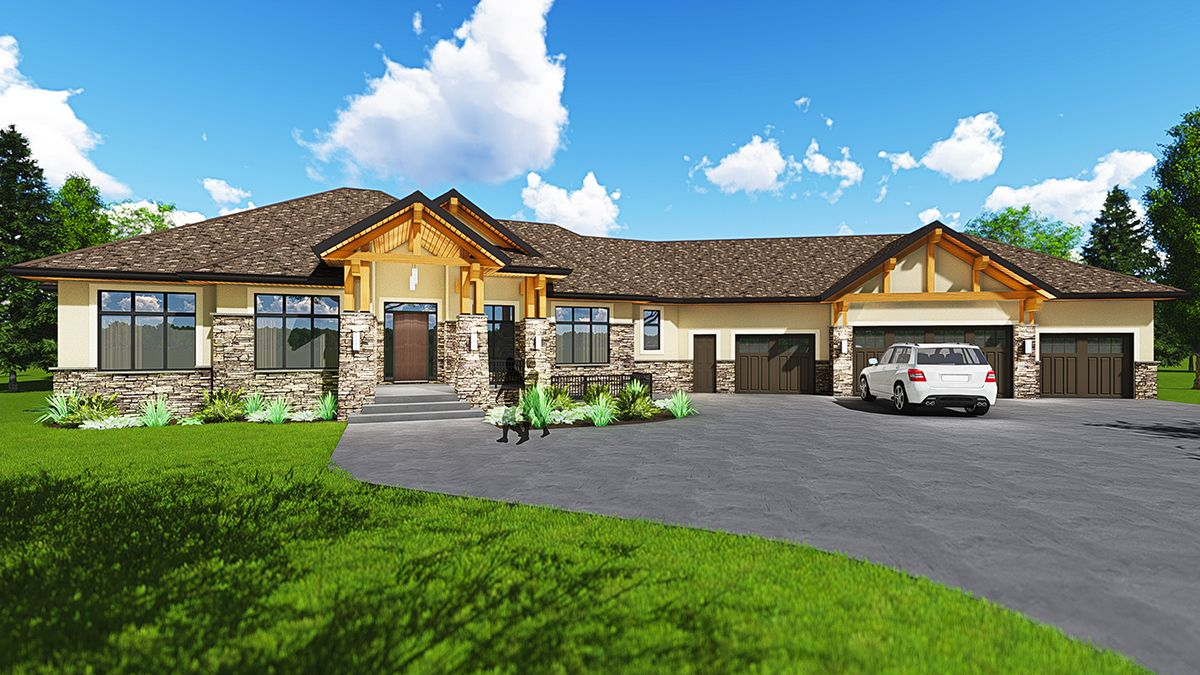 expandable northwest home plan 81602ab 01 - Northwest Home Floor Plans