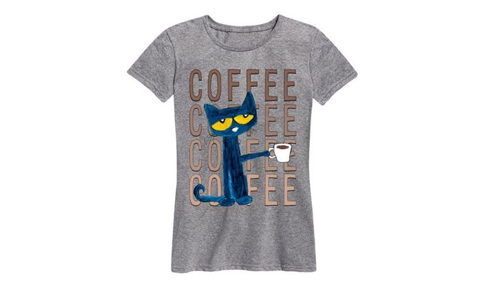 5c29a0a3 Women's Licensed Pete The Cat Tees. Plus size Available.   Spruce Up ...