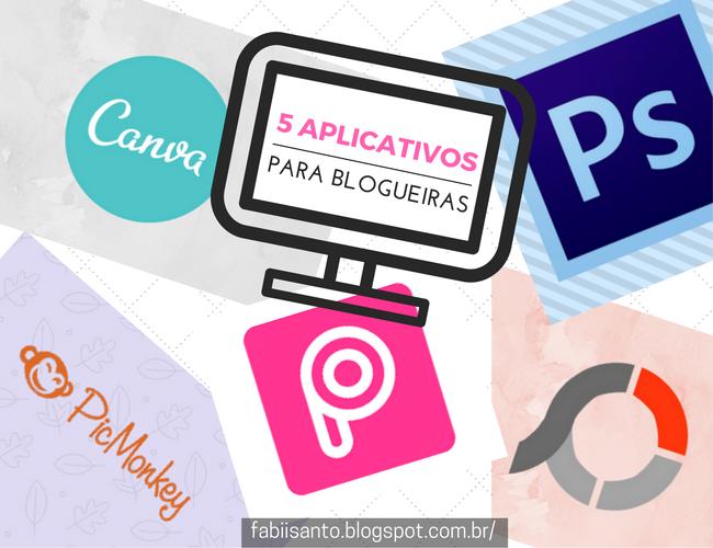 Fabii Santo: Dicas para Blogueiras: 5 aplicativos de edições qu...
