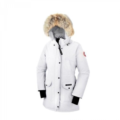 Canada Goose Banff Parka blanco
