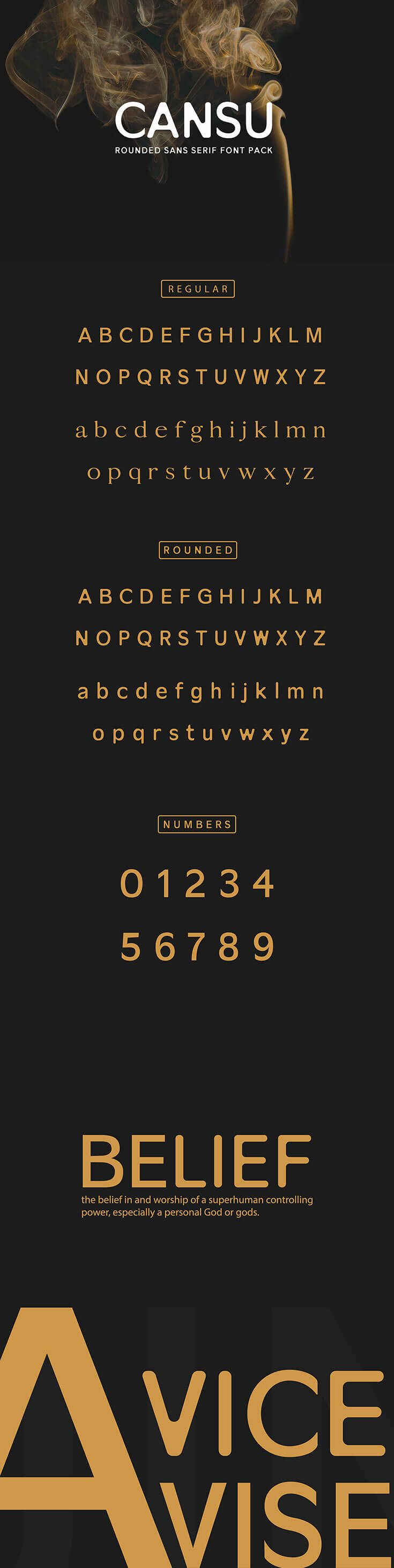 Download Free Cansu Sans Serif Font Pack | Sans serif fonts, Serif ...