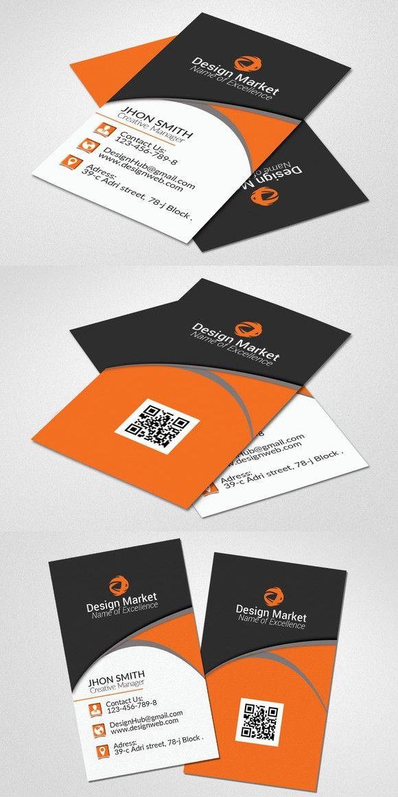 Vertical Business Card Template Vertical Business Card Template Vertical Business Cards Business Card Template