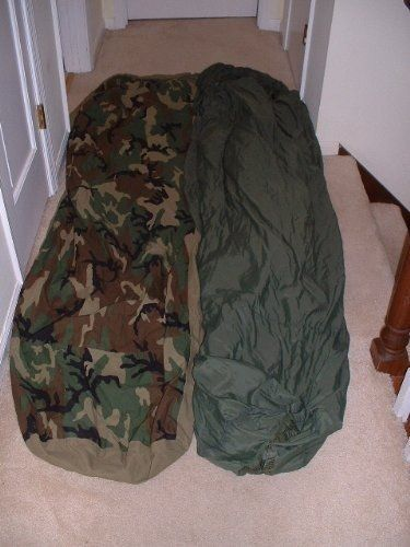 Us Military Warm Weather Sleep System Patrol Sleeping Bag And Water Resistant Bivy Cover Read More Reviews Of The Product By Bivy Sleeping Bag Warm Weather