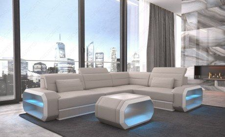 Small Leather Sectional Sofa Seattle LED Small Leather Sofa Seattle ...