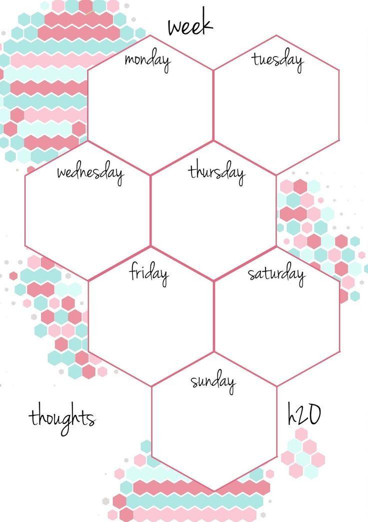 Free Printable Weekly Planner – Free Printable Weekly Planner
