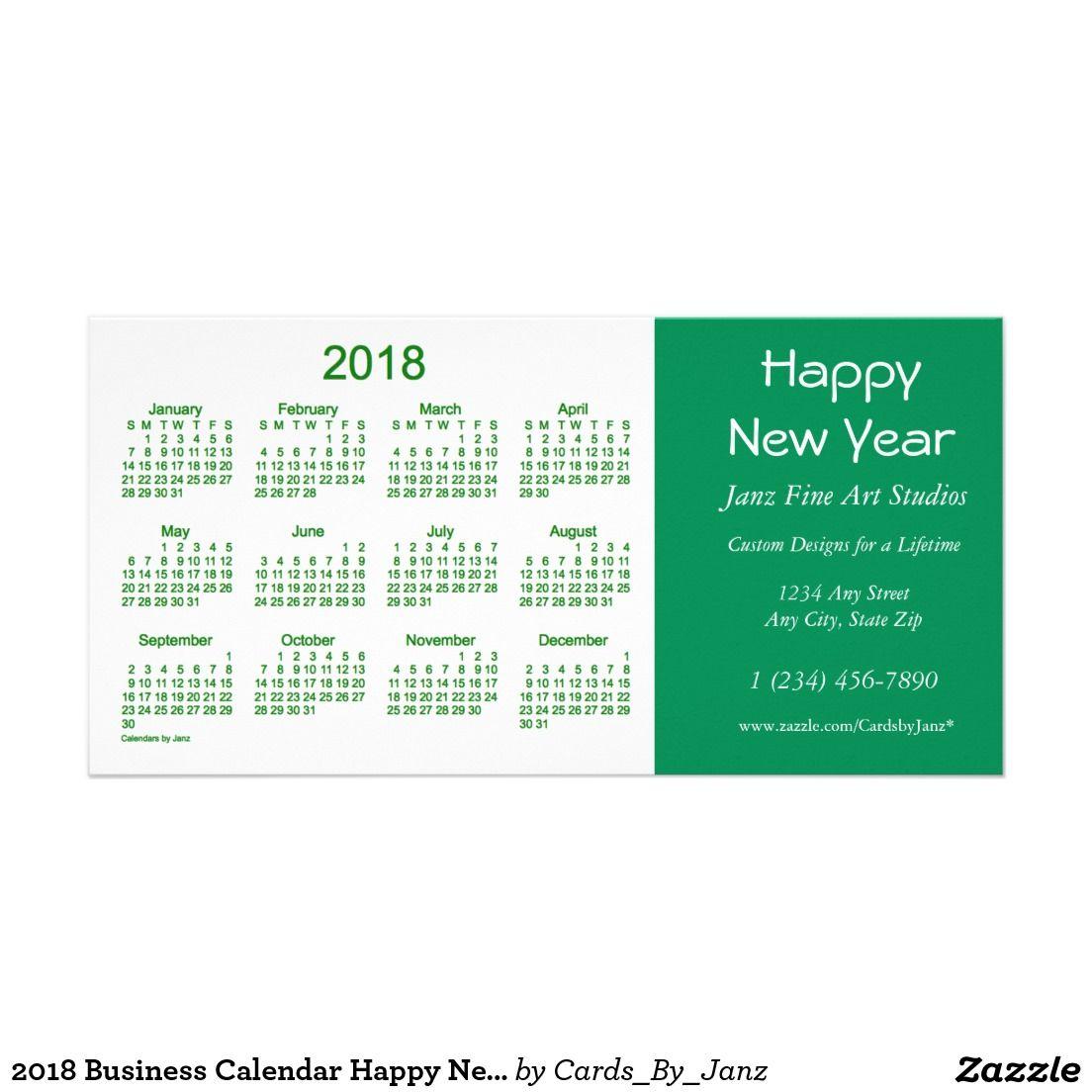 2018 business calendar happy new year card av best deals 2018 business calendar happy new year card colourmoves Images