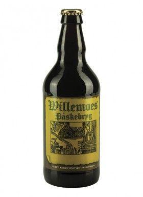 WILLEMOES PÅSKEBRYG / Lys Bock – 6,5% vol.  Willemoes Påskebryg er brygget af münchnermalt, pilsnermalt, lys karamelmalt og tysk humle. Øllet er gæret koldt og er langtidslagret.  Aromaen er umiddelbart diskret frugtig, men en fyldig og kompleks maltduft tager hurtigt over.  I munden opleves øllet cremet og blødt, alkoholen giver en varmende fornemmelse. Maltsmagen har en kompleks aromastruktur.  Afslutningen er kort og rund, varmende og velafbalanceret.