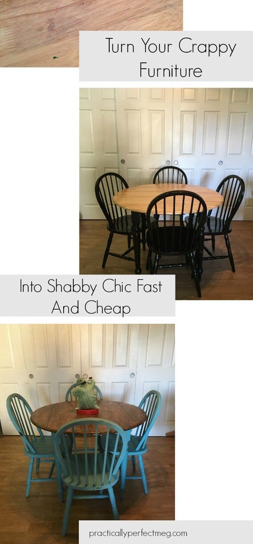 Apr 18 Turn Your Crappy Furniture Into Shabby Chic Fast And Cheap