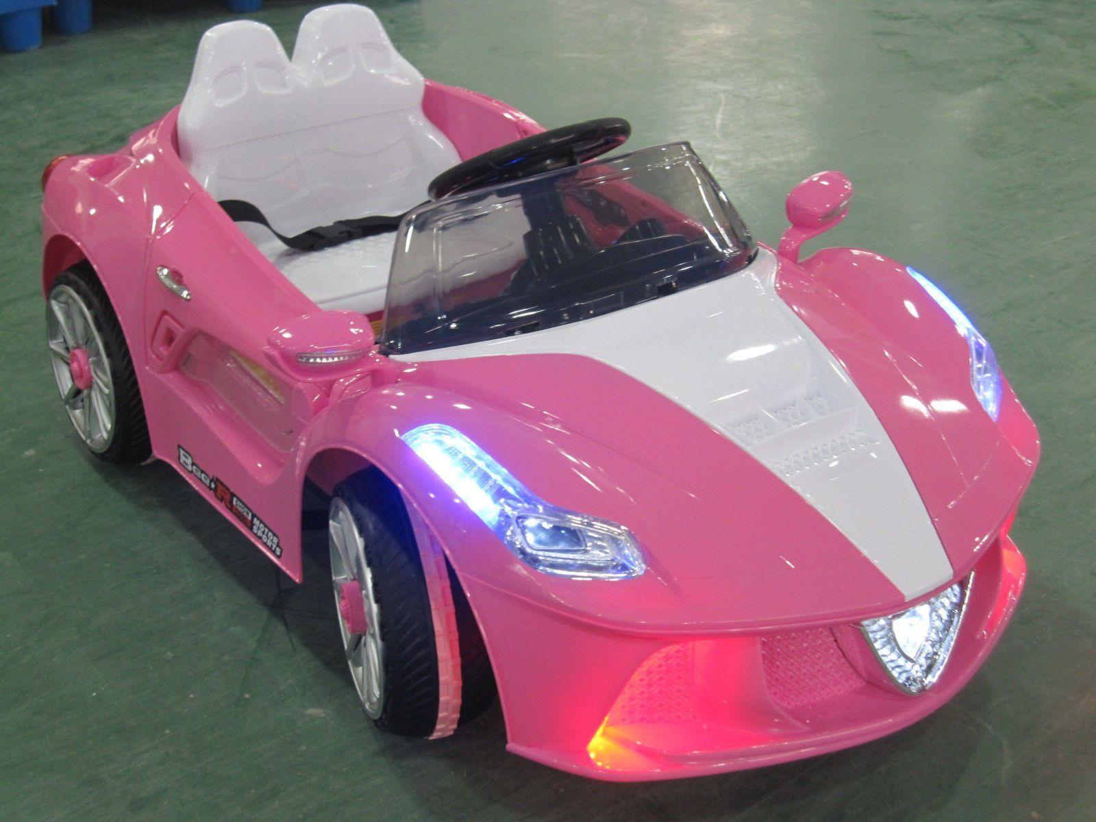 Spider GT Kids RideOn Toy Car with Parental Remote Pink