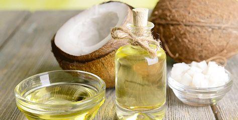 huile barbe maison coco | Huile de noix de coco, Noix de