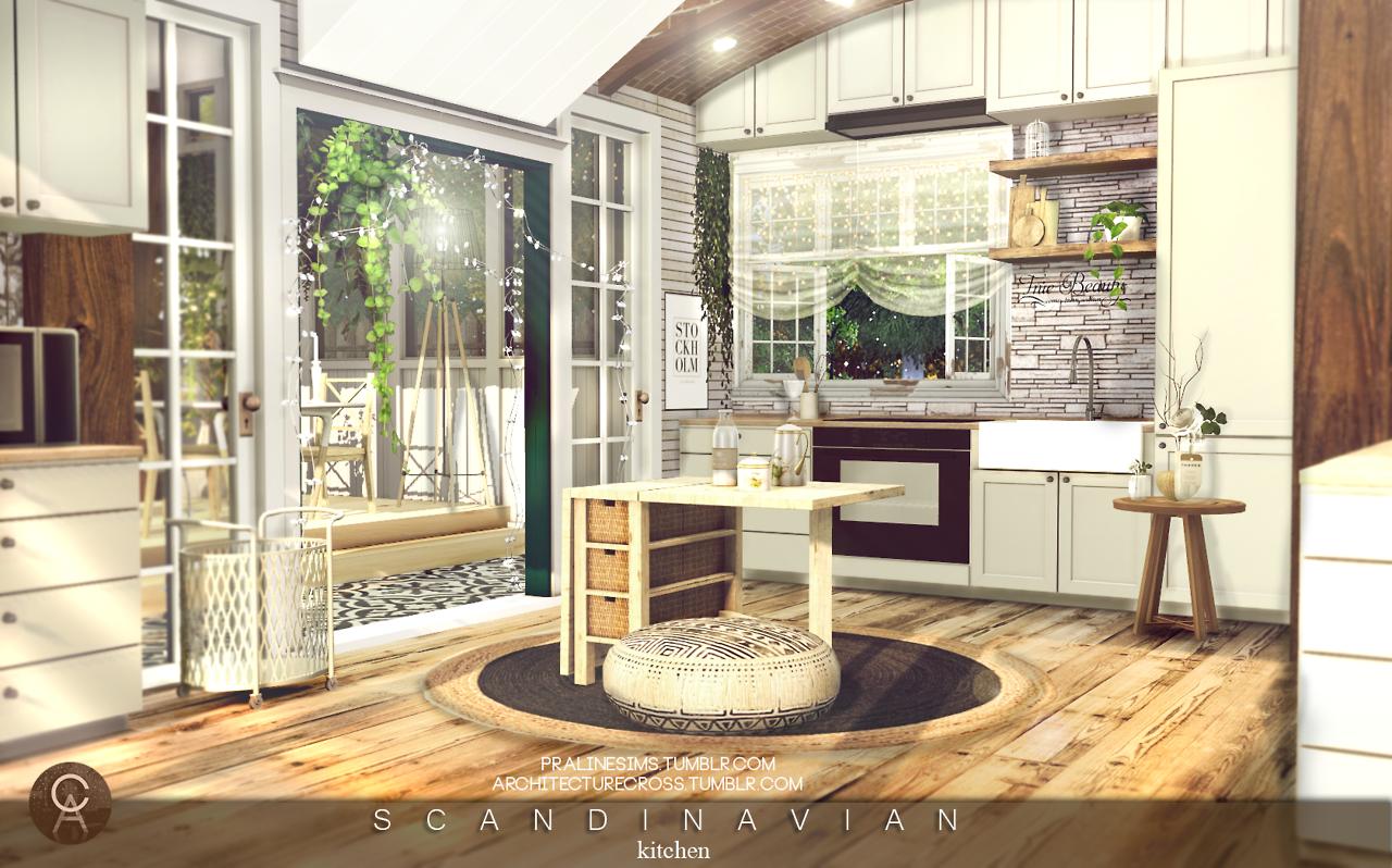 Sanoysims Sims House Sims 4 Houses Sims 4 Kitchen