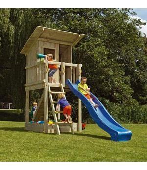 parques infantiles de madera columpios