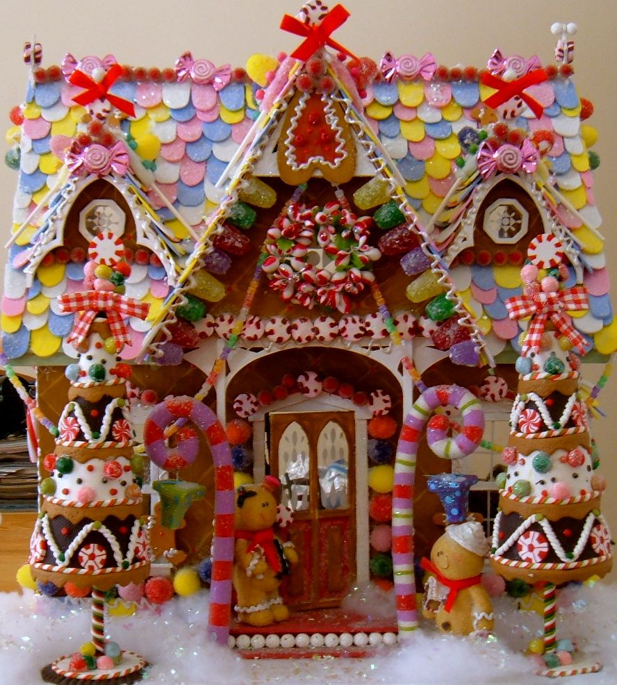 Abcya Christmas Tree: Wednesday's Child: Gingerbread House Redux