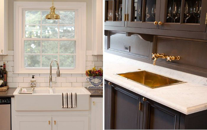Peonies And Brass Brass Obsessed Hardware Styles For The Kitchen Kitchen Kitchen