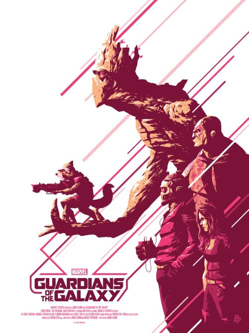 Guardians of the Galaxy - Artist Florey
