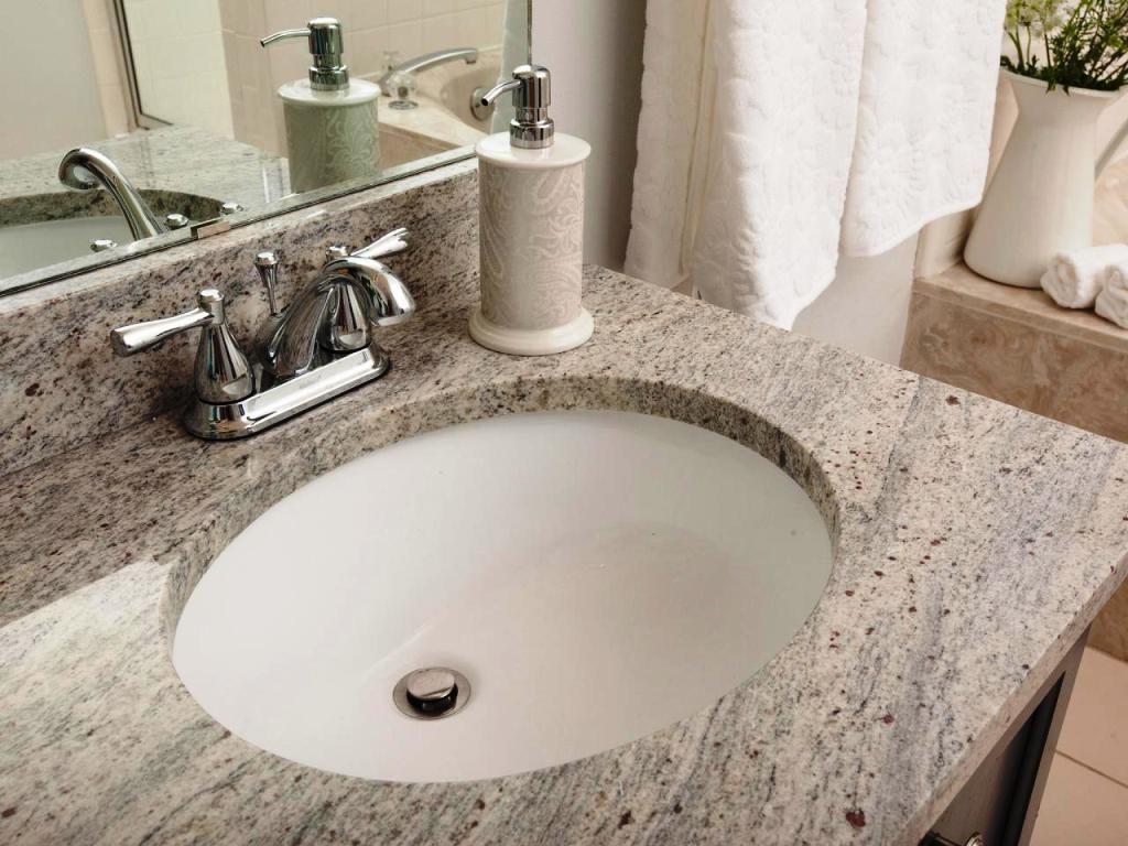 Bathroom Countertop Materials Options And Comparisons Granite