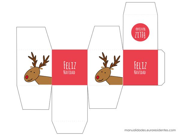15 Cajas de Navidad para imprimir | Pinterest | Cajas de navidad ...