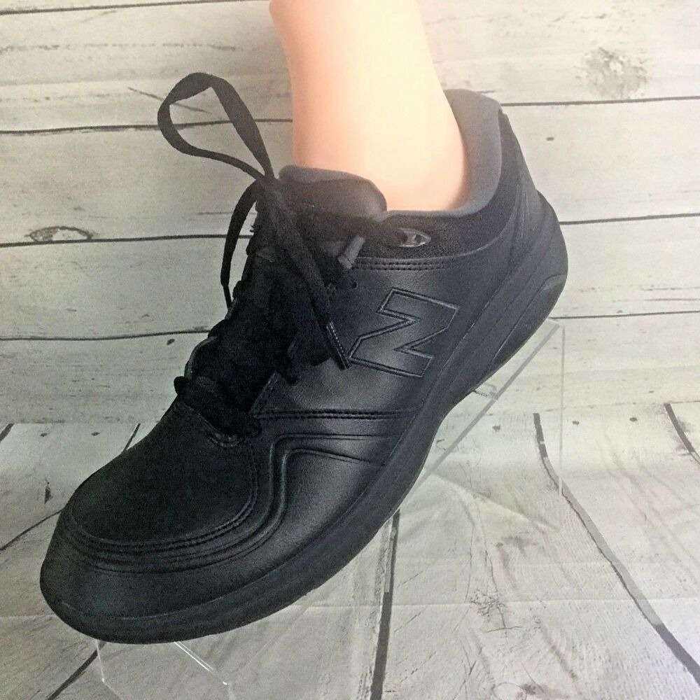 6ad8a423fc New Balance 813 Black Walking Shoe Leather Womens Narrow US 11 EUR ...