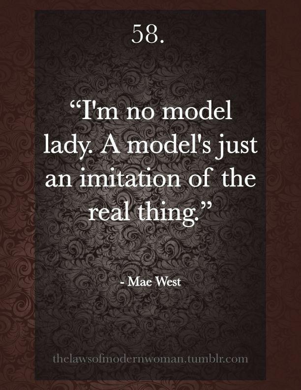Mae West Quote Mae West Mae W