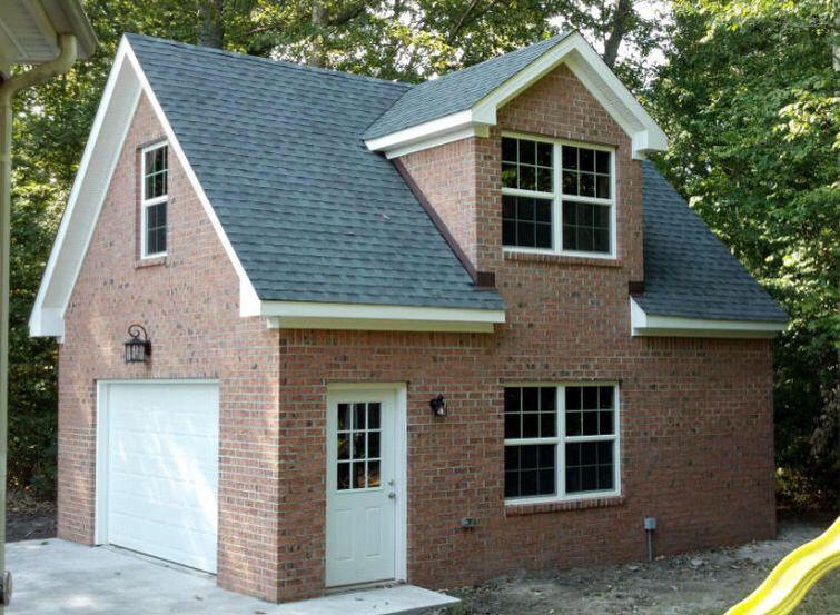 20 x 24 brick garage Garage apartments, House styles