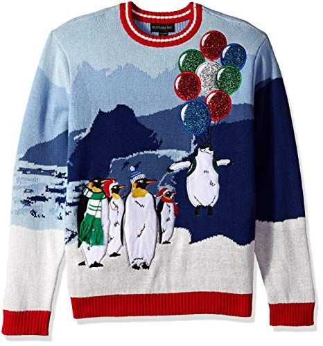 Blizzard Bay Flight Of The Penguin Ugly Christmas Sweater Knit With