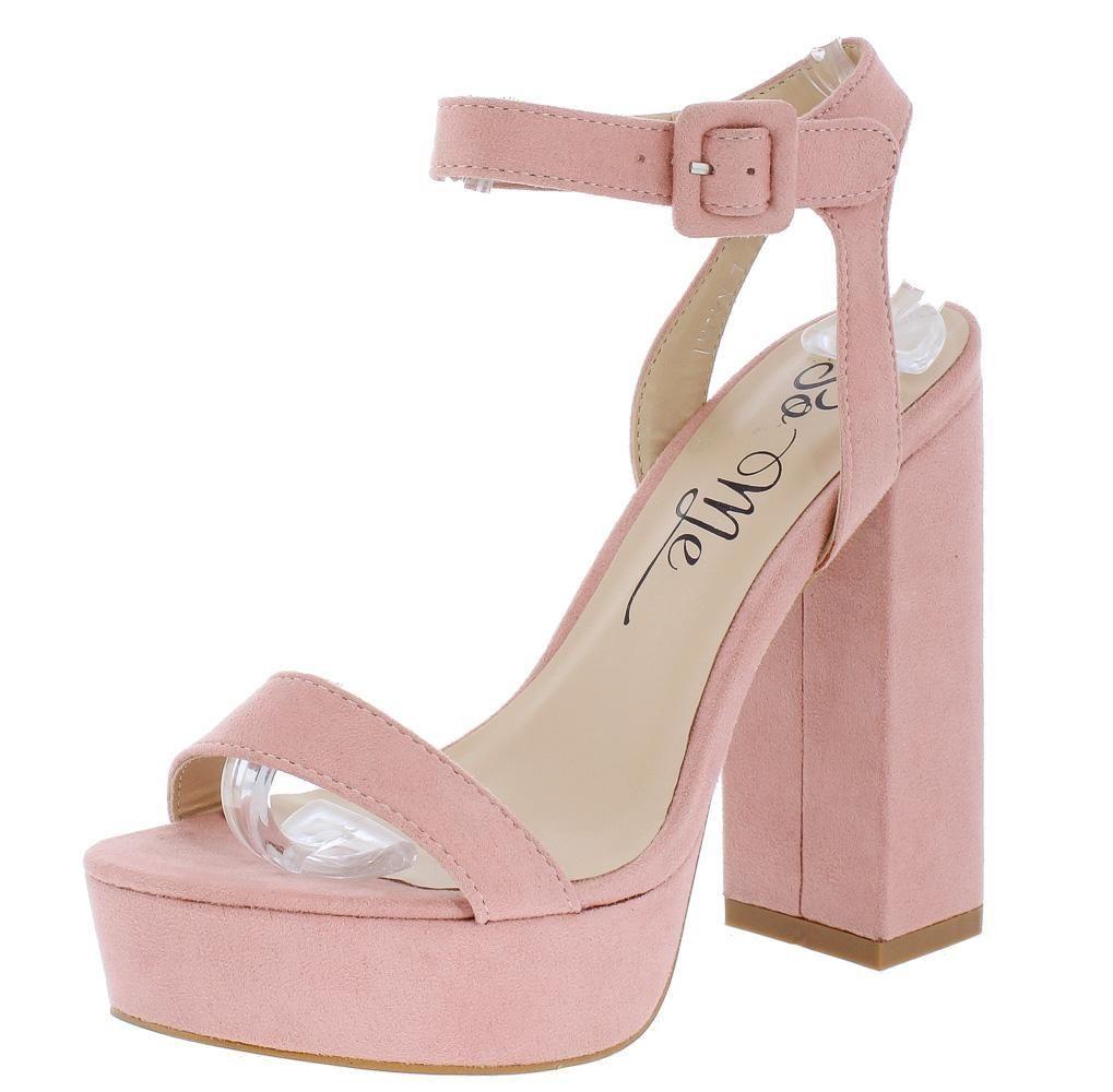 0698daa42ad Image result for blush pink platform heels | Prom in 2019 | Blush ...