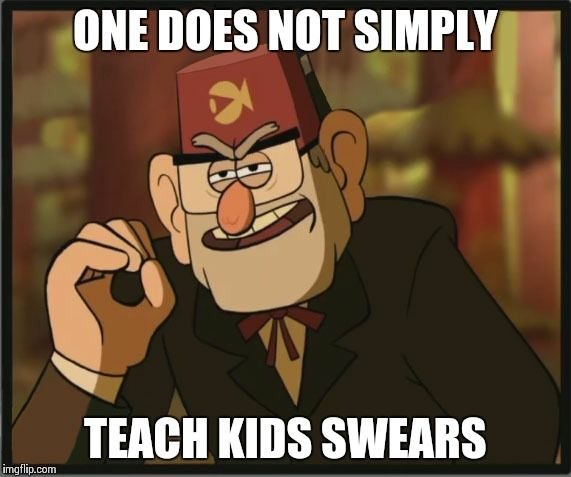 One Does Not Simply Gravity Falls Version Meme Generator Gravity Falls Gravity Falls Funny Fall Memes