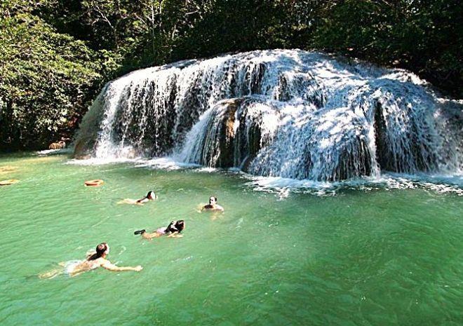 Cachoeira Em Pernambuco Bonito Estancia Mimosa E Um Passeio De