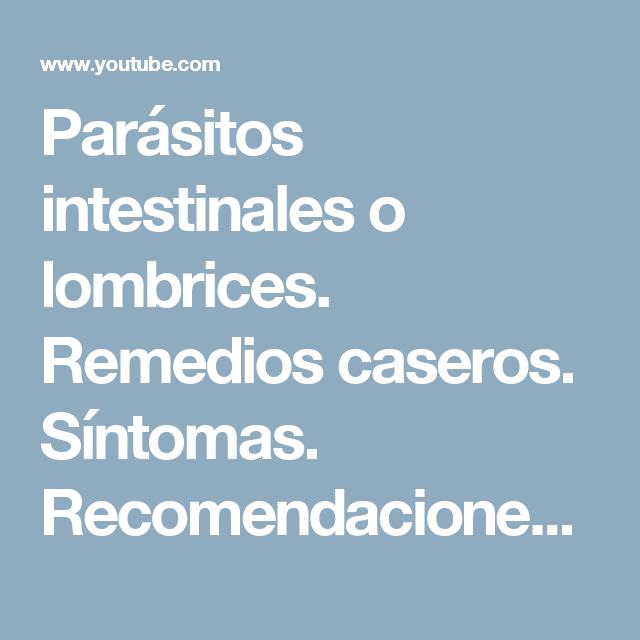 sintomas de parasitos intestinales adultos