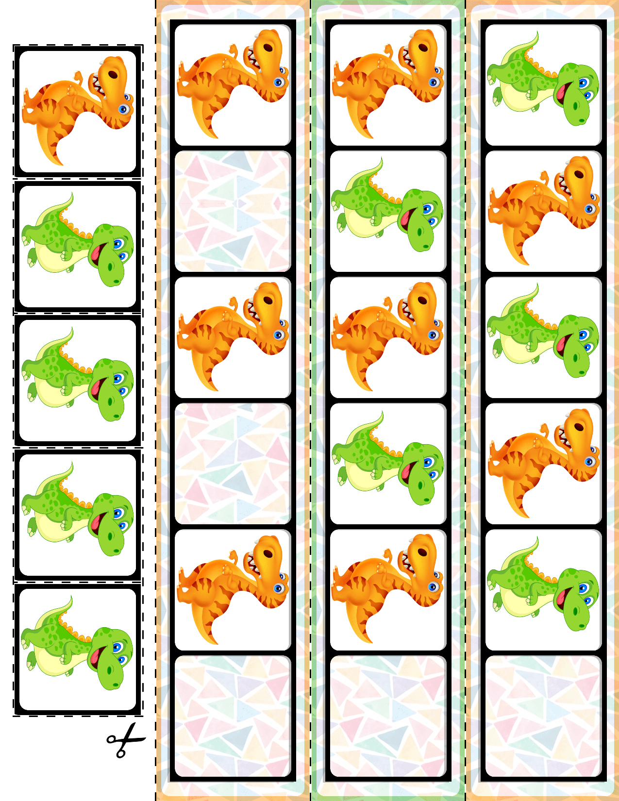 1 Teach Basic Ab Patterns With These Dinosaur Fill In The Pattern Cards 30 Cards And Super Quick Prep Mathce Preschool Patterns Ab Patterns Card Patterns [ 1650 x 1275 Pixel ]