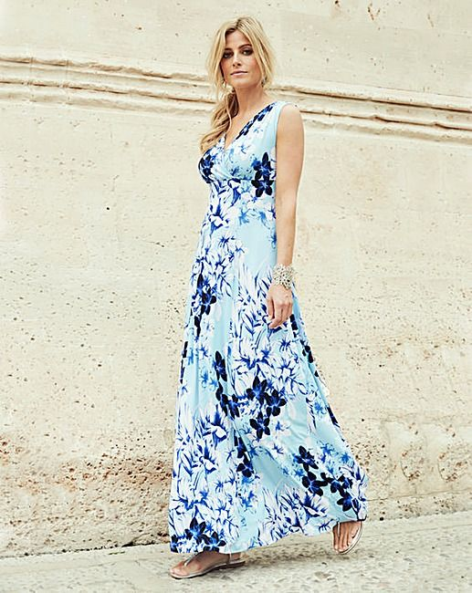 2fa8feaa8d Joanna Hope Print Jersey Maxi Dress