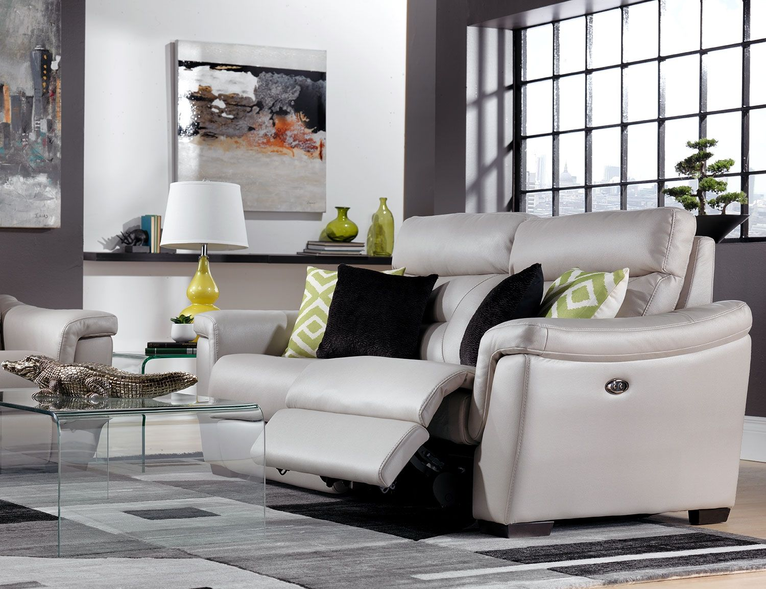 Euro Lounge. Create The Look And Feel Of A Chic, Modern European Living Room