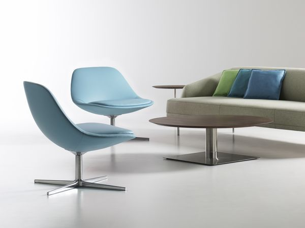 Contemporary Lounge Chairs Kohls High Chair Modern And Office Reception Sofas