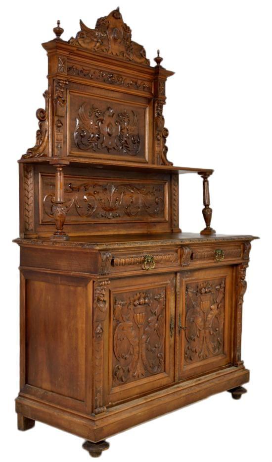 antique french victorian sideboard antique furniture. Black Bedroom Furniture Sets. Home Design Ideas