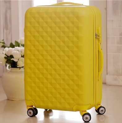 20/24 inches ABS girl students spinner trolley case child Travel business luggage Combination lock suitcase women Boarding box