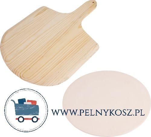 Hit Kamien Do Pizzy Chleba Lopatka Okragly 5308389276 Oficjalne Archiwum Allegro