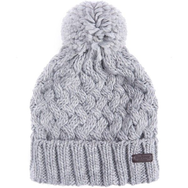 Cable Knit Beanie in Grey - Grey Barbour Z9IruFAx