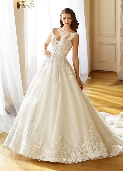 5ebfef2c6965e David Tutera - 217202W - Anna - All Dressed Up, Bridal Gown - Mon Cheri -  Chattanooga TN's All Dressed Up Bridal Shop / Bridal Boutique offers  Wedding Gowns ...