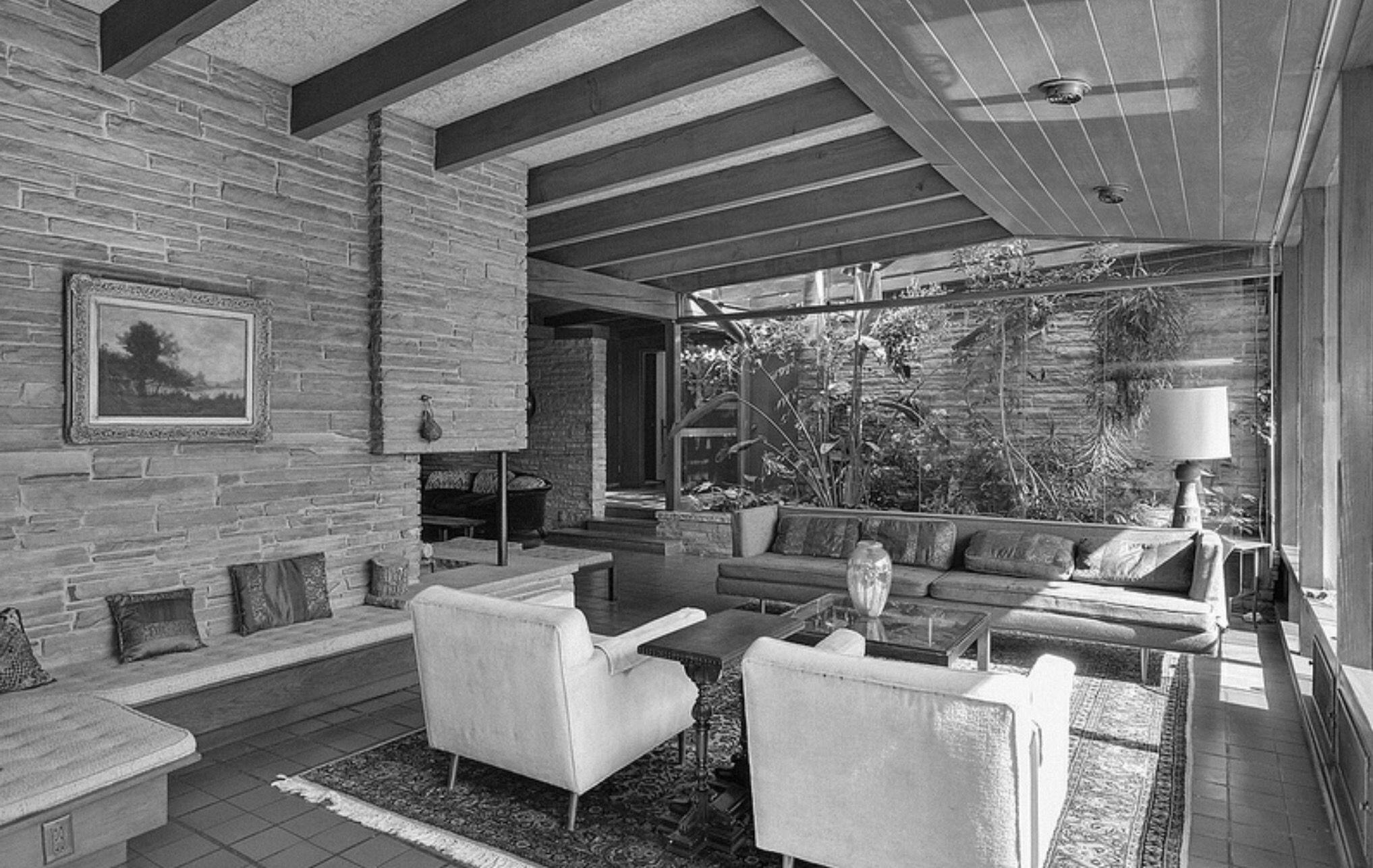 Pin von Sue Rutherford auf Mid Century Living Rooms | Pinterest