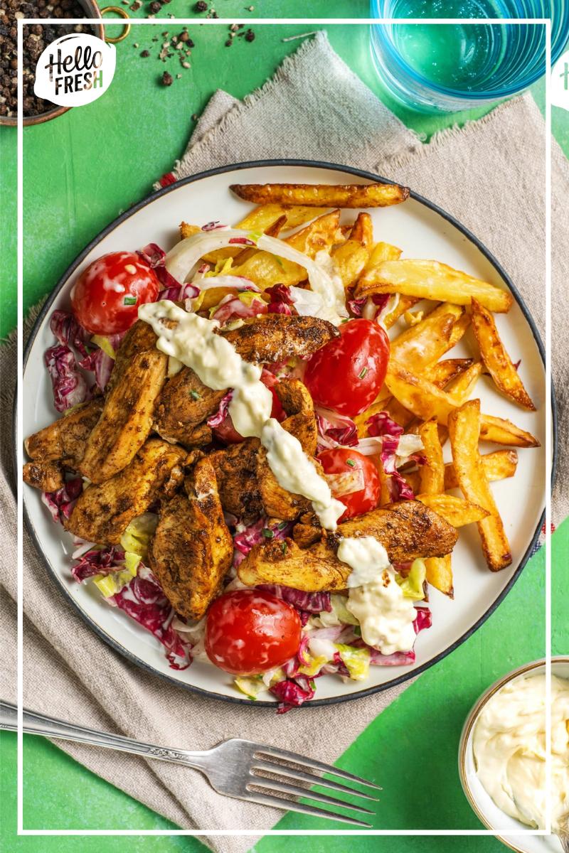 recette kebab maison / kebab revisité / plat au four avec ...