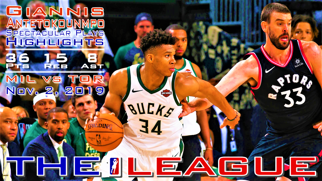 Giannis Antetokounmpo Spectacular Plays Highlights