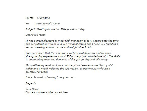 Valid Sample Thank You Letter After Interview Via Email Free Http Letterbuis Com Valid Sample Interview Thank You Interview Thank You Letter Thank You Letter