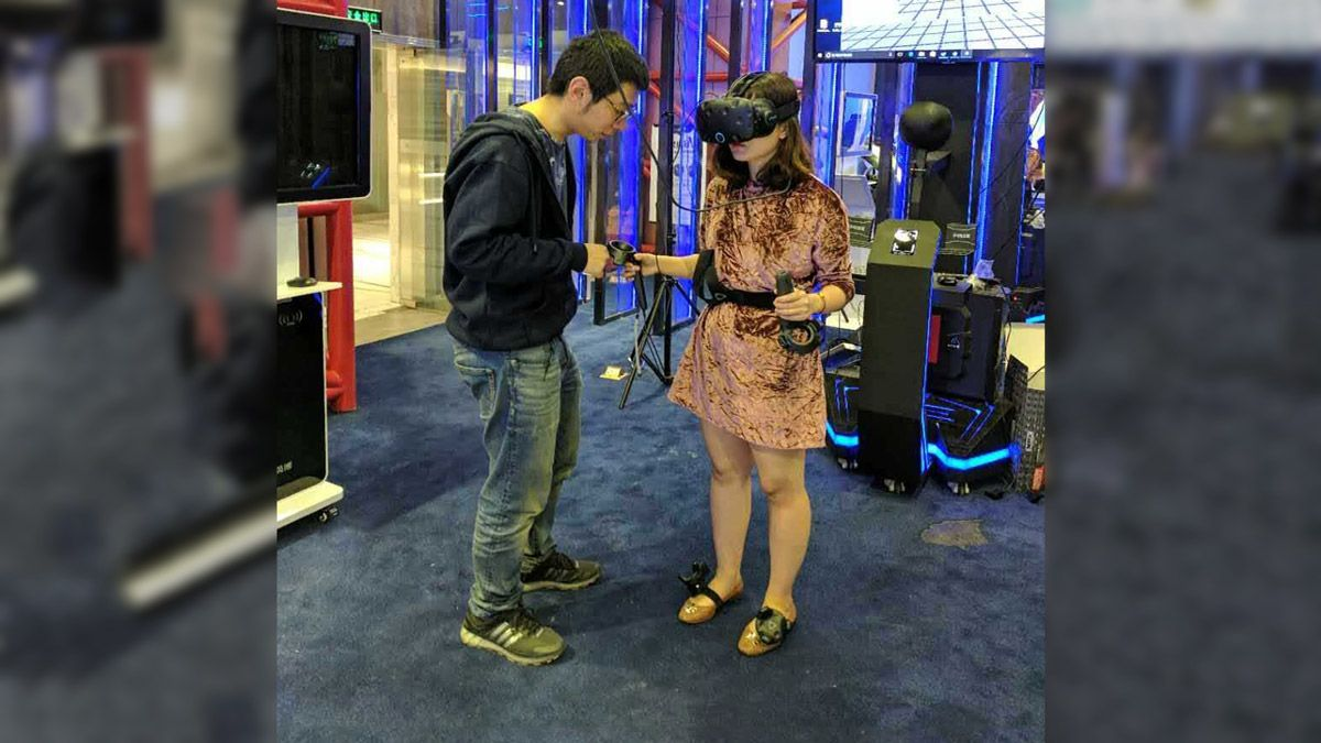 HTC Vive Senior Engineer James Xiong has provided a Vive IK