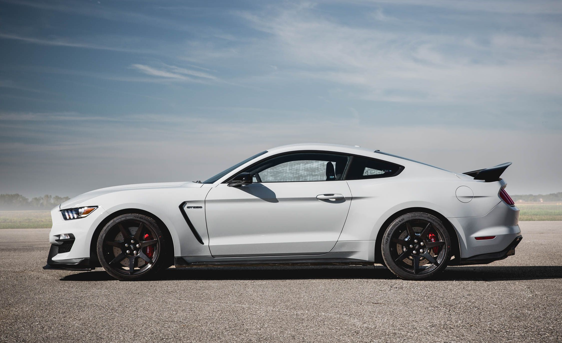 Ford Mustang Shelby Gtr Exterior Side View  Cars Performance Reviews And Test Drive