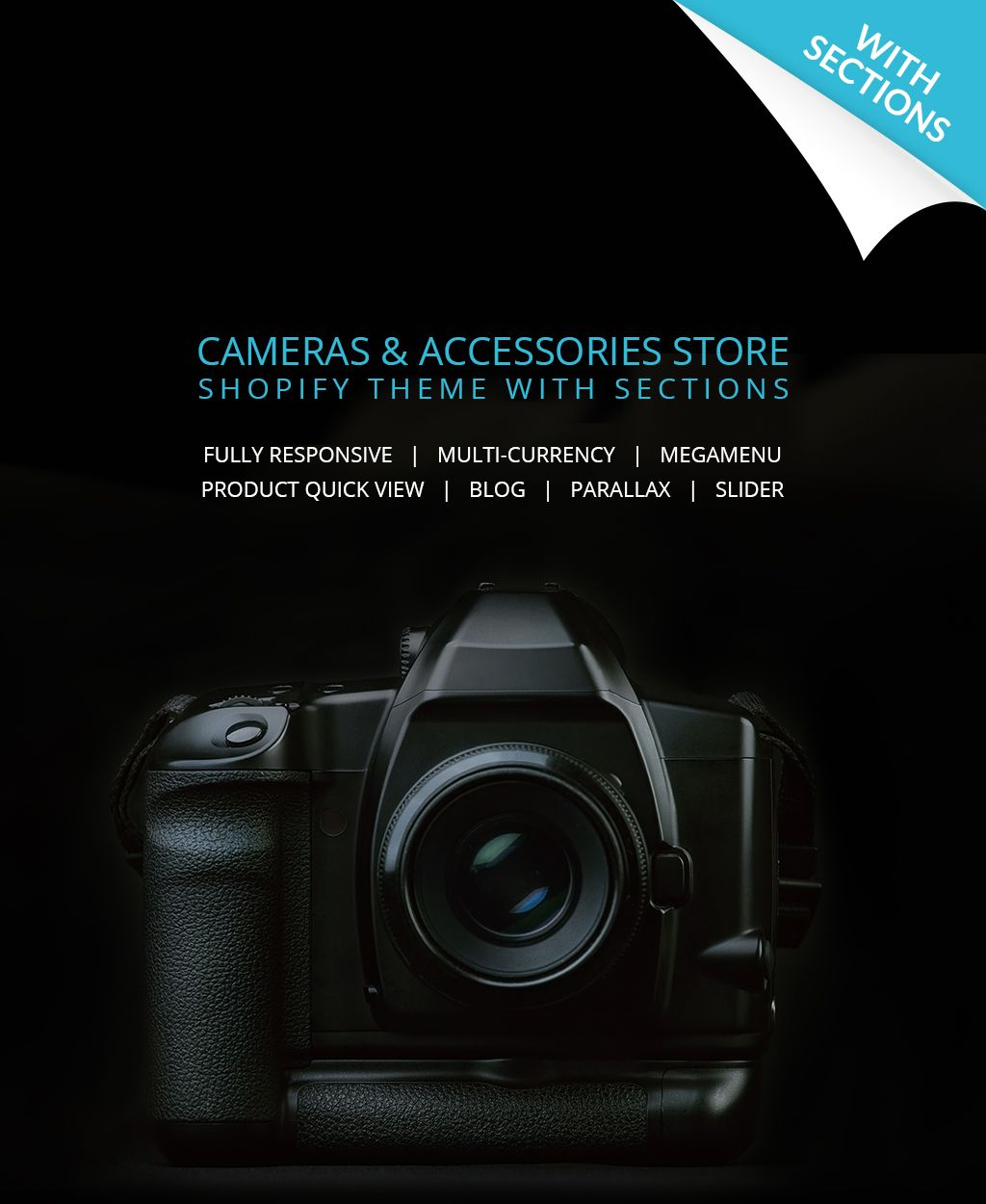 Electronics Store Responsive Shopify Theme #64635
