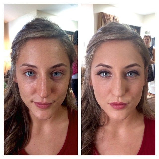 awesome vancouver wedding Another bridesmaid before and after! #vancouvermua  #vancouverwedding #vancouverwedding