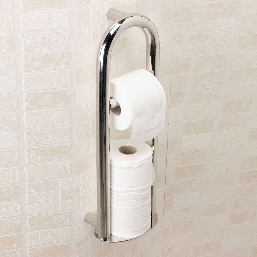 Spa Toilet Roll Holder Integrated Grab Rail M66399  https://www.nrshealthcare.