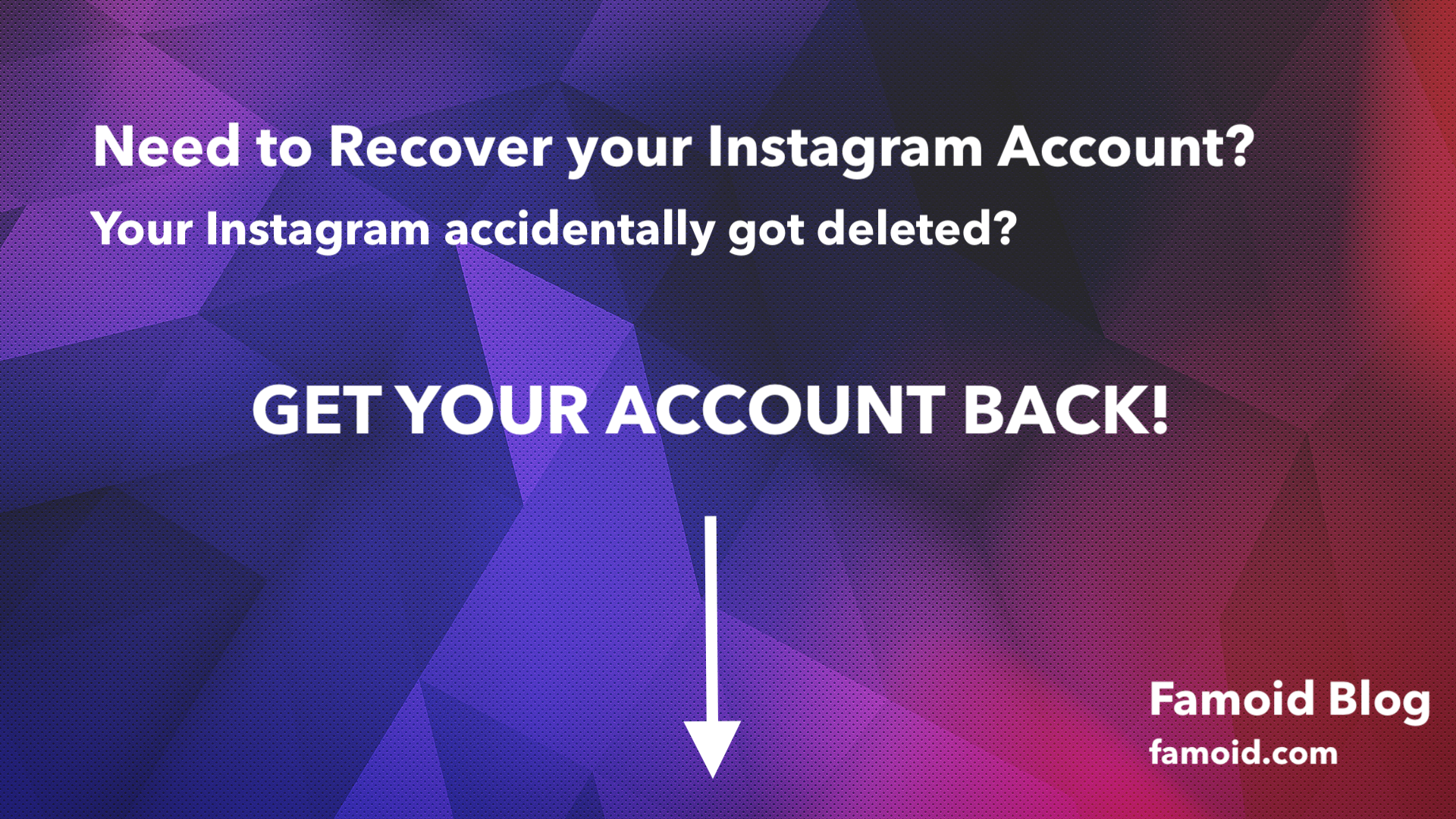 How To Recover Permanently Deleted Instagram Account Updated Delete Instagram Instagram Accounts Instagram