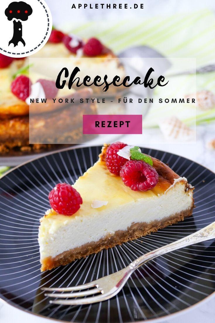 Cheesecake New York für den Sommer - Applethree - Food | Travel | Life